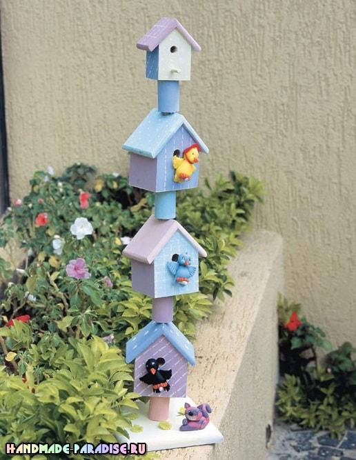 Лепные сувениры. Птички из полимерной глины (3)