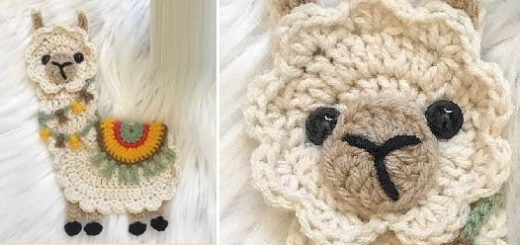 Альпака с седлом крючком. Описание вязания (2)