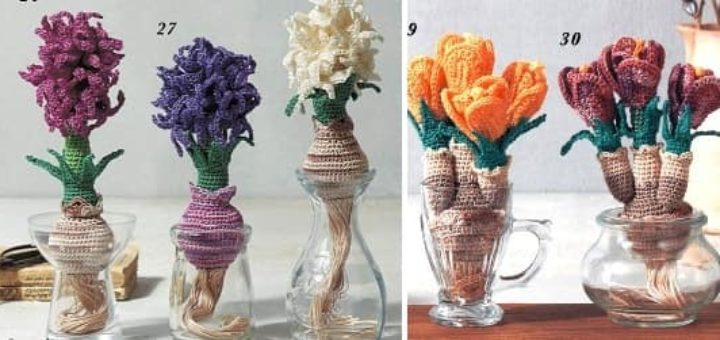 Crochet Botanical Item 2020 - Heart Warming Life Series (1)