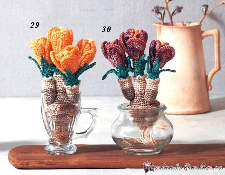 Crochet Botanical Item 2020 - Heart Warming Life Series (2)