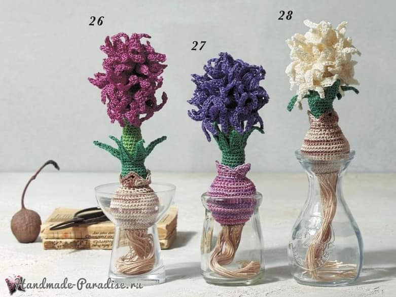 Crochet Botanical Item 2020 - Heart Warming Life Series (3)