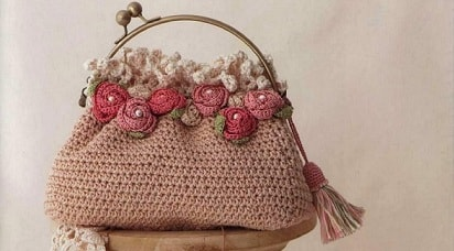 Crochet Jewelry and Bag Craft Book - японский журнал (2)