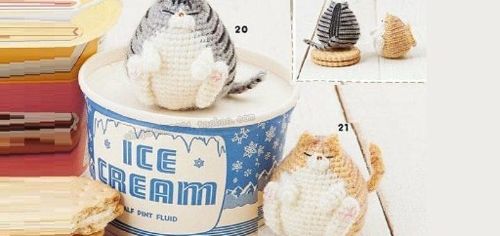 Толстый кот крючком. Амигуруми (1)