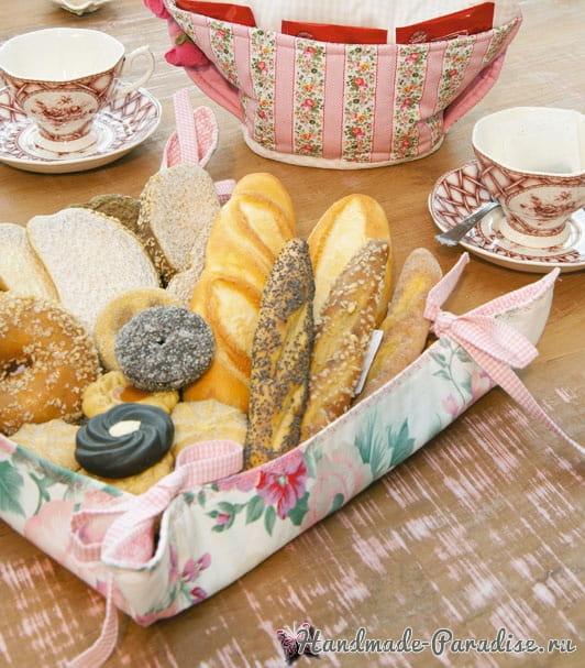 Корзинка - хлебница в японском стиле