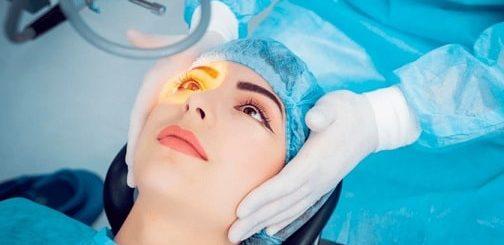 Операция по удалению катаракты