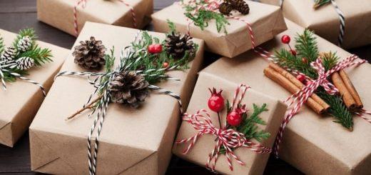 Упаковываем подарки к Новому году