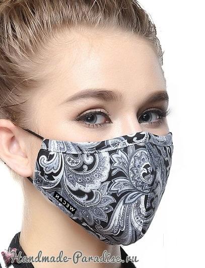 Выкройка защитной маски для лица (1)