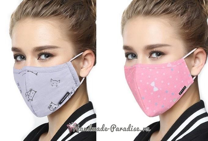 Выкройка защитной маски для лица (6)