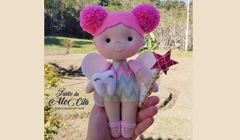 Куколка «Зубная фея» из фетра (1)