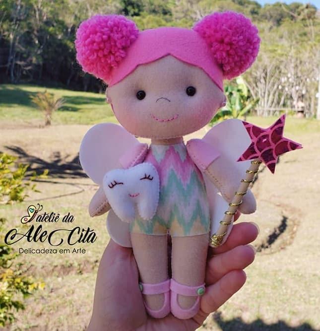 Куколка «Зубная фея» из фетра (5)