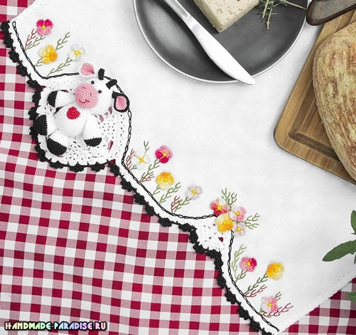 Буренка крючком. Схемы вязания амигуруми (2)