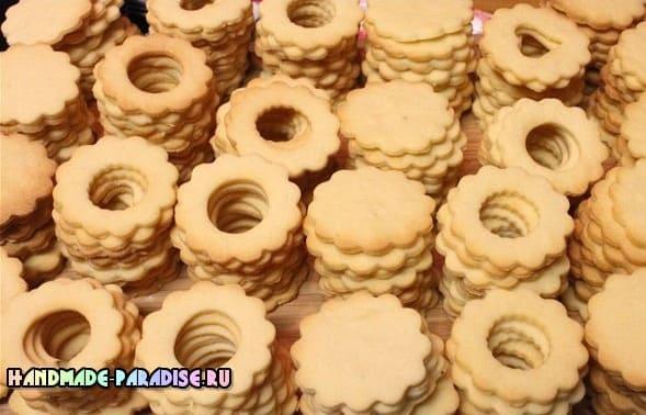 Хрустящее печенье с джемом. Рецепт (2)