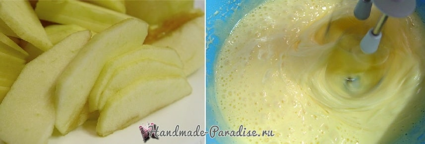 Миндально-яблочный пирог. Вкусный рецепт (1)