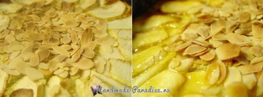 Рецепт миндально-яблочного пирога (3)