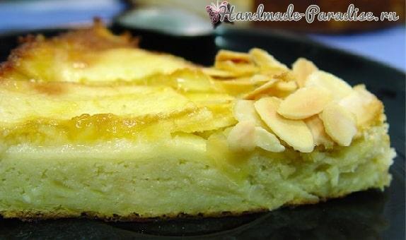 Миндально-яблочный пирог (4)