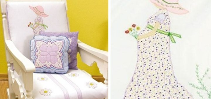 Подушка с аппликацией для будущей мамы (2)