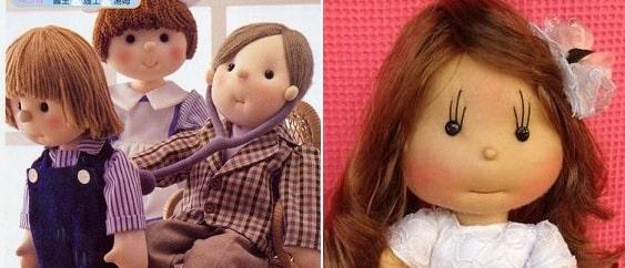 Как сшить куклу из капрона. Японский журнал (1)