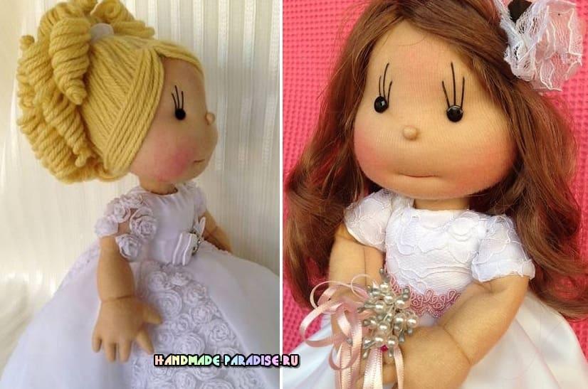 Как сшить куклу из капрона. Японский журнал (3)