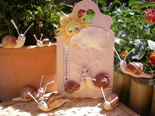 Лепка улиток для декора разделочной доски (1)