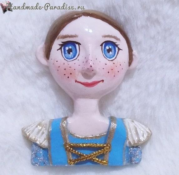Лепка кукол для создания картины (3)
