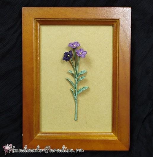 Цветы крючком - платикодон (2)