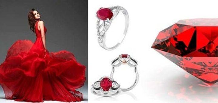 Кольцо с рубином – совершенство в деталях