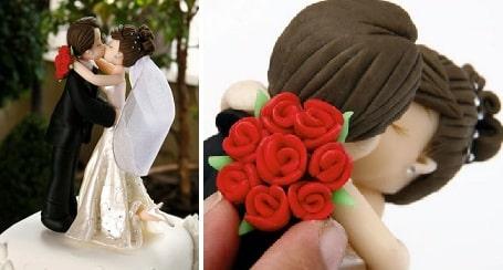 Лепка. Жених с невестой для свадебного тортаЛепка. Жених с невестой для свадебного торта (2)
