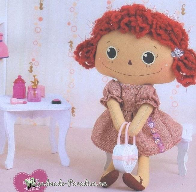 Выкройка текстильной куклы (2)