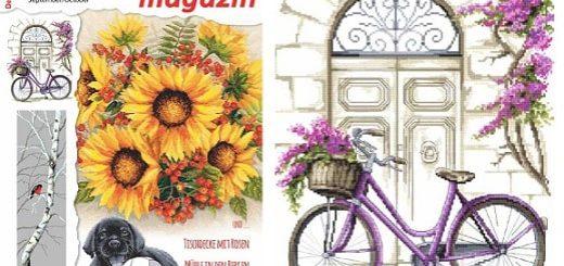 Вышивка крестом. Журнал «Dein Kreuzstich magazin» 5 2018 (2)